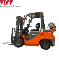 Os carros elevadores Vift 3 Ton 3,5 ton 6600lb 8000lb Nissan Motor EPA empilhadeiras a gás de gás propano carro