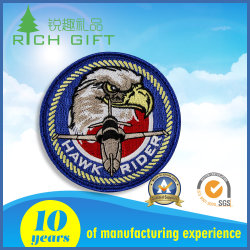 Promotie Custom Military 3d Logo Garment Label Fashion Woven Fabric Embroidery Patch Emblem For Clothing
