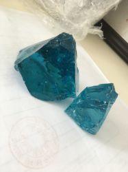 Hot sale Recycled large Blue Slag Glass Rock pour Gabion