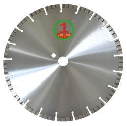 350mm, 400mm löteten Diamanten Sägeblatt-Platte für Ausschnitt-harten Granit, der Marmor hart, konkret