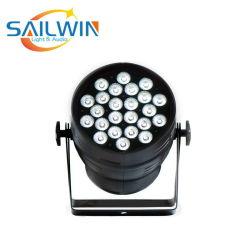 Болты с внутренним шестигранником 24*18W 6в1 Rgbaw УФ лампа высокого матовый алюминий LED PAR