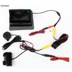 """주차 Sensor+4.3를 가진 3in1 차 리버스 백업 사진기 """" LCD 모니터"""