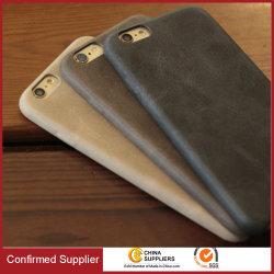 حقيبة هاتف محمول من الجلد المحبب الجلد المحبب على الطراز البريطاني القديم
