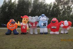 Modèle gonflable promotionnel, modèle de bande dessinée gonflables géants, de la publicité Figure gonflable