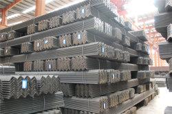 Ms de acero inoxidable laminado en caliente el ángulo de hierro en la fábrica.