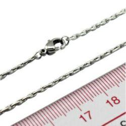 Cuerda de Acero inoxidable de la moda de la Cadena Necklace