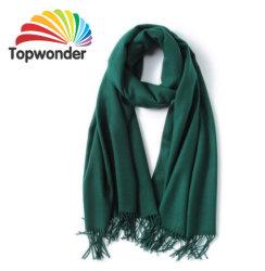 Lenço de moda, feitas de acrílico, de algodão e poliéster, lã, Royan, baixa quantidade mínima, cores e tamanhos disponíveis