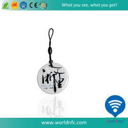 Etiqueta de Anel Nfc de alta qualidade com impressão de logotipo etiqueta de epóxi