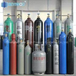 1.8L-80L Helio Nitrogênio oxigênio Argon CO2 Cilindro de aço com ISO/PT/CE