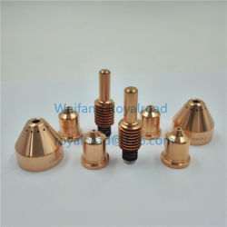 Substituição do eletrodo de partes separadas 220842 (Maçarico de corte corte de plasma) Consumíveis