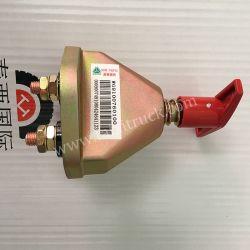 Wg9100760100 выключатель аккумуляторной батареи для HOWO, Donfeng, Фавом погрузчика