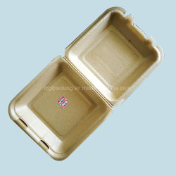 Compostable 생물 분해성 거품이 이는 PLA 식사 상자