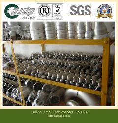 Pliez les coudes en acier inoxydable / réducteur en acier inoxydable en acier inoxydable Raccords de tuyauterie Tee Ss 304/1.4301 304L/1.4306 316L/1.4404 321/1.4541 904L/1.4539 ASTM A403