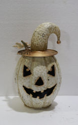 Vacaciones fiesta de Halloween Decoración de calabazas de metal