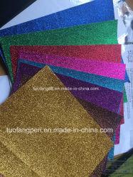 Gostavas de sapatos coloridos papel cintilante