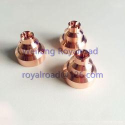 Materiale di consumo della torcia della taglierina di taglio del plasma dell'elettrodo 120929, dell'ugello & dello schermo