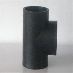 Raccord de tuyau de 90 degrés du tuyau de HDPE le raccord en T
