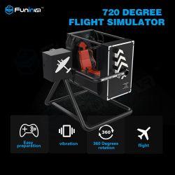 Funinvr 360도 비행 시뮬레이터 실제 비행 게임 및 운전 게임 머신