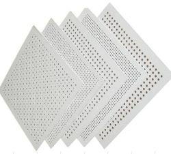 Preforated de gypse et de panneaux muraux de plafond
