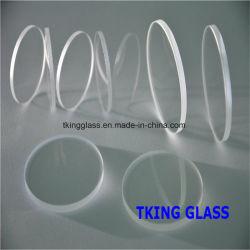 光ファイバアレイ基板のための水晶ガラス