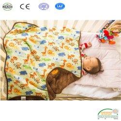 Мягкий теплый полиэстер подкладка из флиса с малым проекционным расстоянием для детей детское одеяло для новорожденных
