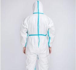 Популярный продукт медицинских Protecive платье антивирусные защитный костюм Coverall безопасности