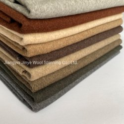 Venta caliente para a/W Moda, mezcla de colores de lana de 50%50%poliéster tejido de doble cara