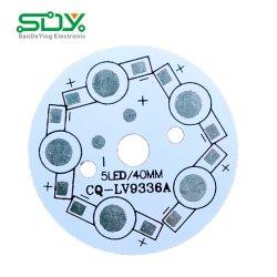 De Fabrikant van de ronde 94V0 5050 RGB LEIDENE van het Aluminium SMD Raad van PCB