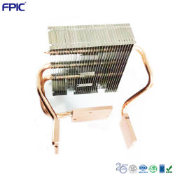 Kühlkörper für 0,23 1080p (XPR) Optical Engine Parts Radiator Mit 3 Heatpipes Luftkühlung