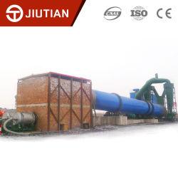 مجفف أسطوانات دوارة للفحم كبير السعة للتصدير