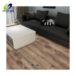 La madera de fábrica vistazo haga clic en el lujo impermeable Lvt/SPC/WPC Vinilo de goma pisos de mosaico de plástico PVC Plank Precio