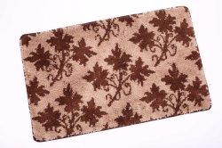 Удобная ткань из микроволокна Установите противоскользящие Shaggy латекс опорной коврик для ванной комнаты