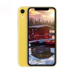 الهاتف الذكي الأصلي المستخدم 100% الهاتف الخلوي تم تجديد الهاتف الخلوي Telefone Usado للهواتف المحمولة iPhone XR 64G 256g، من الفئة الثانية