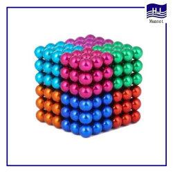 대중적인 다채로운 자석 공 네오디뮴 또는 NdFeB 아이들 장난감 Neocube