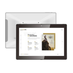 En Stock casa inteligente inalámbrica WiFi Android Tablet de 10 pulgadas a Poe en la pared de tabletas con Google