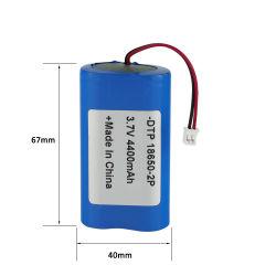 DTP 7.4V 18650 2s1p 2600mAh 공장 출하 시 맞춤형 리튬 배터리 팩