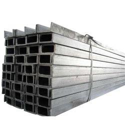 أحجام القنوات من الفولاذ/U القياسية A36/Ss400/Q235/JIS