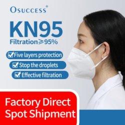 Het gediplomeerde KN95 Masker van het Gezicht van het Ademhalingsapparaat van de Gezondheidszorg Corpusculaire