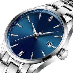 ステンレス鋼の腕時計の人の腕時計の防水機械自動動きの腕時計