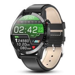 L13 Smart смотреть мужчин IP68 водонепроницаемый ЭКГ PPG Bluetooth вызов артериального давления частота сердечных сокращений фитнес-Tracker спорта Smartwatch