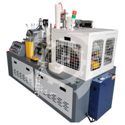 Einfache und doppelte PE-Beschichtung vollautomatische Papierbecher-Maschine