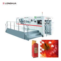 580ton Direito de Alta Pressão alta profundidade automática Gofragem Emboss Pressione Die Decapagem corte a Máquina para papel