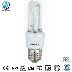 Venda quente 3W 5W 7W 9W 12W 18W 24W 32W 45W B22 E27 Marcação RoHS Base 2u 3u 4u 5u espiral LED lâmpadas economizadoras de energia LED acende a lâmpada de Milho