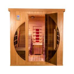 卸し売りホーム高品質のインストール遠い赤外線はサウナの木製のマッサージ部屋のコントロール・パネルを置く