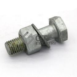 Galvanizado en caliente de acero al carbono transmisión ASTM A394 Todos los tipos de perno de Torre hexagonal