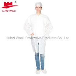 Laborkaten aus Vliesstoff Factory Supply PP Einweg mit CE SMS Blau Weiß