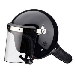 Casque PC Anti-Riot pour la police à utiliser avec Visor et le masque