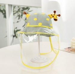 Anti-Spratzen Spritzen-schützendes Schild-Gesichtsgesichts-Deckel-Hut-Sommer-Baby-Sorgfalt-Hut