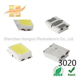3020 لون أبيض لشريحة SMD ذات مؤشر LED العلوي