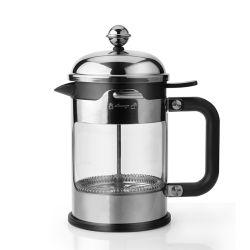 На заводе питания боросиликатного стекла 304 из высококачественной нержавеющей стали по-французски нажмите чая и кофе